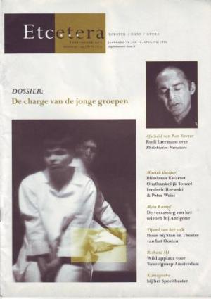 'Het zachtjes breken van een takkenbos', Etcetera, nr. 45, april-mei 1994, 16-19
