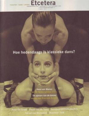'De gestoorde relatie tussen klank en beeld', Etcetera, nr. 52, oktober 1995, 21
