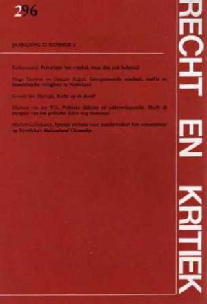 Recht en kritiek 1996/2