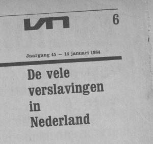 Vrij Nederland 14 januari 1984