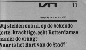 Vrij Nederland 11 mei 1985